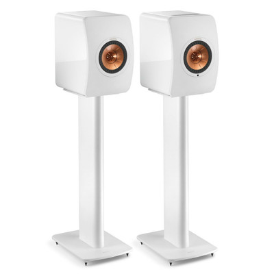 KEF S2 Speaker Stand For LS50, LS50 Wireless, LS50 Wireless II, Pair(White)