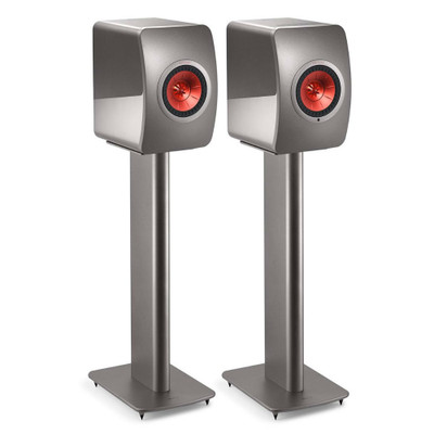 KEF S2 Speaker Stand For LS50, LS50 Wireless, LS50 Wireless II, Pair (Titanium)