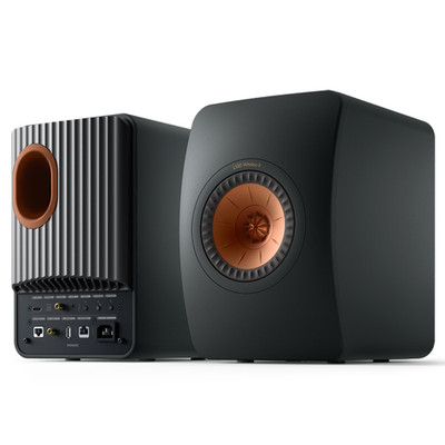 KEF LS50 Wireless II Hi-Fi Speaker System (Carbon Black)