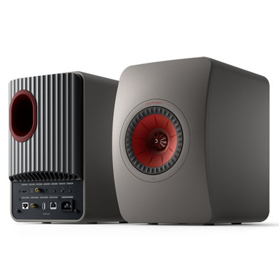 KEF LS50 Wireless II Hi-Fi Speaker System (Titanium Grey)
