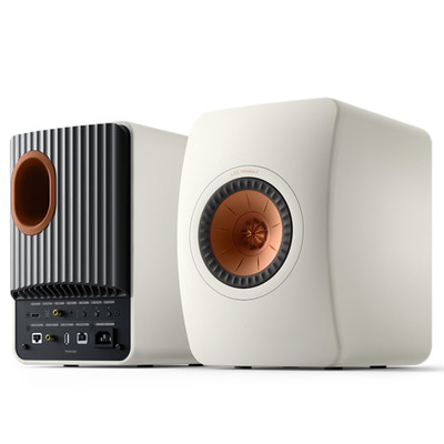 KEF LS50 Wireless II Hi-Fi Speaker System (Mineral White)