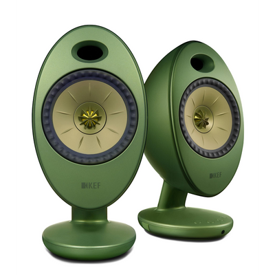KEF Egg Duo 11th Generation Uni-Q Wireless Speaker System (Green)