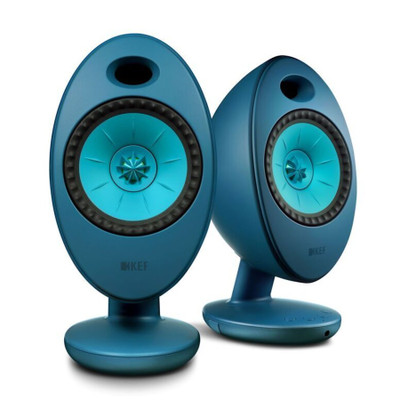 KEF Egg Duo 11th Generation Uni-Q Wireless Speaker System (Teal)