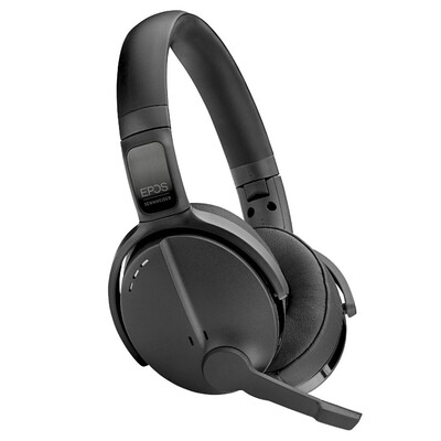 EPOS Sennheiser Adapt 560 Active Noise Cancelling Headset With BTD 800 USB Wireless Dongle (Black)