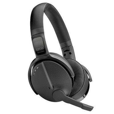 EPOS Sennheiser Adapt 563 Wireless Active Noise Cancelling Headset With Foldable Mic Boom (Black)