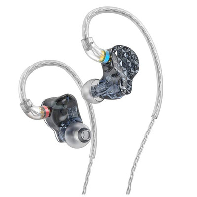Fiio FA9 6 Knowles Balanced Armature In-Ear Monitors (Black)