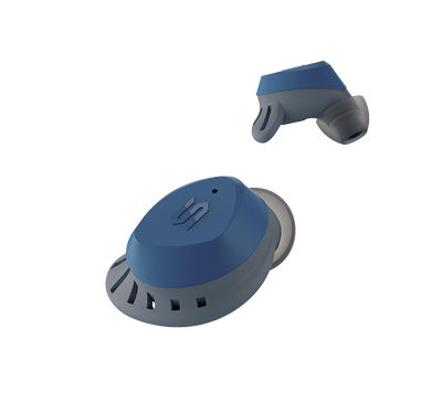 SOUL S-FIT All Conditions True Wireless Earbuds With Hi-Definition Sound (Blue)