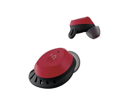 SOUL S-FIT All Conditions True Wireless Earbuds With Hi-Definition Sound (Red)