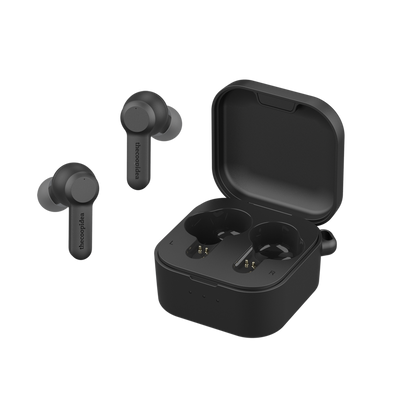 thecoopidea Beans Pro 2 ANC Active Noise Cancellation True Wireless Earbuds (Matt Black)