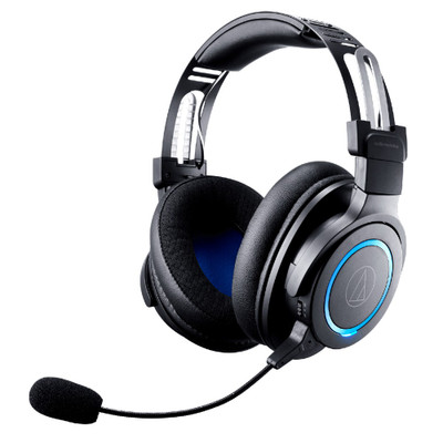 Audio-Technica ATH-G1WL Wireless Premium Gaming Headphones With Detachable Boom Mic