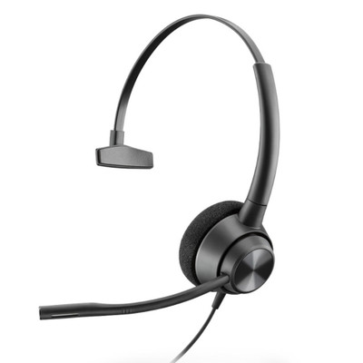 Poly Plantronics EncorePro 310 QD Mono Headset, Quick Disconnect