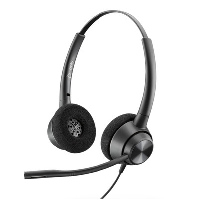 Poly Plantronics EncorePro 320 QD Stereo Headset, Quick Disconnect
