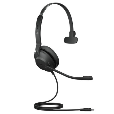Jabra Evolve2 30 MS Mono Headset USB-C (Black)