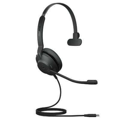 Jabra Evolve2 30 MS Mono Headset, USB-C (Black)