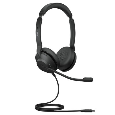Jabra Evolve2 30 MS Stereo Headset USB-C (Black)