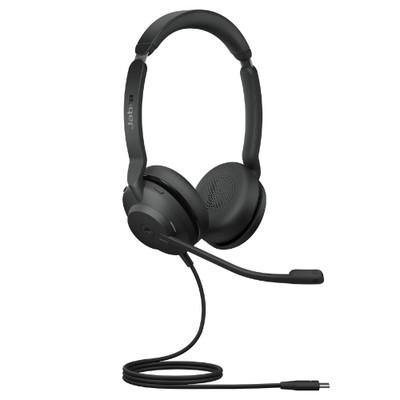 Jabra Evolve2 30 MS Stereo Headset, USB-C (Black)