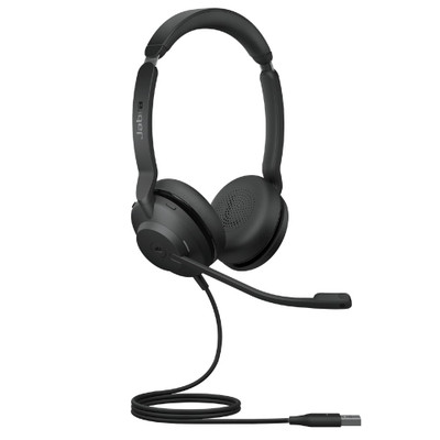 Jabra Evolve2 30 UC Stereo Headset USB-A (Black)