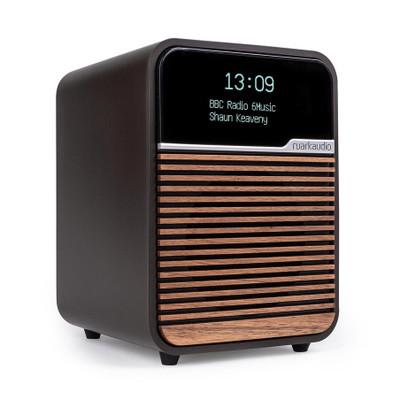 Ruark Audio R1 Deluxe Bluetooth Radio (Espresso)