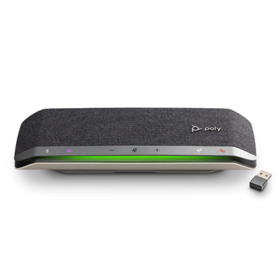 Poly Sync 40+ Smart Wireless Conference Speakerphone, With BT600 Bluetooth Adapter, MS Teams, USB-A, USB-C