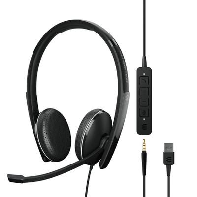 EPOS Sennheiser Adapt 165 USB-A II Stereo Headset, USB-A, 3.5mm