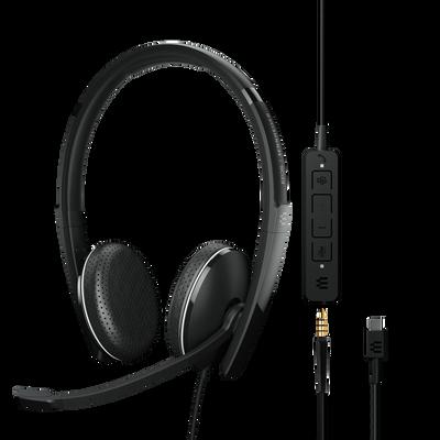 EPOS Sennheiser Adapt 165T USB-C II Stereo Headset, MS Teams, USB-C, 3.5mm