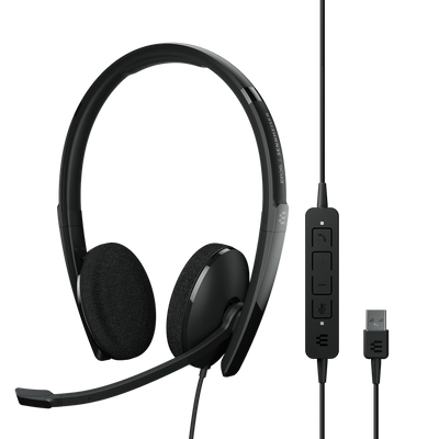 EPOS Sennheiser Adapt 160 USB-A II Stereo Headset, USB-A
