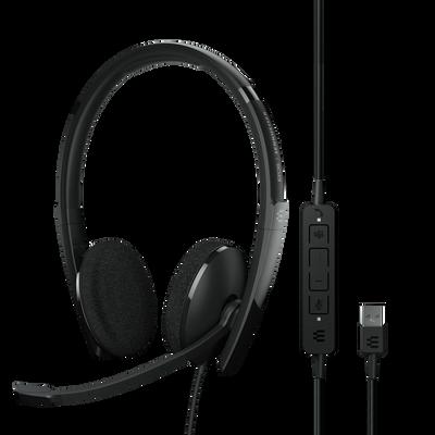 EPOS Sennheiser Adapt 160T USB-A II Stereo Headset, MS Teams, USB-A