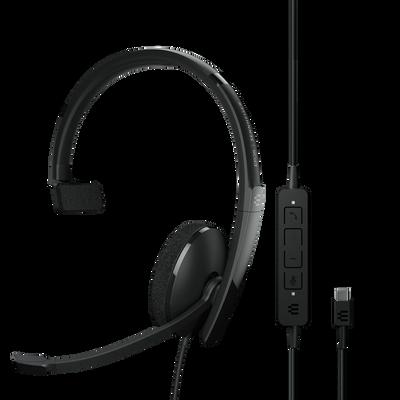 EPOS Sennheiser Adapt 130 USB-C II Mono UC Optimized Headset, USB-C