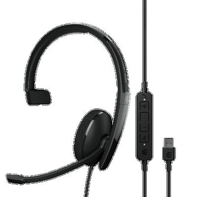 EPOS Sennheiser Adapt 130T USB-A II Mono MS Teams Certified Headset, USB-A