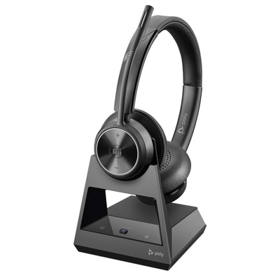 Poly Plantronics Savi 7320 Office Stereo DECT Wireless Headset, MS Teams