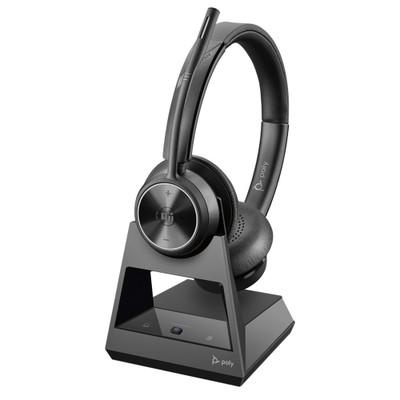 Poly Plantronics Savi 7320 Office Stereo DECT Wireless Headset, MS Teams