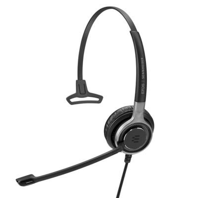 EPOS Sennheiser Impact SC 630 Mono Headset, Easy Disconnect, For Deskphones
