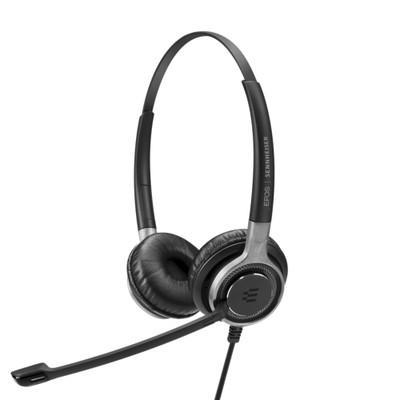 EPOS Sennheiser Impact SC 668 Stereo Headset, Easy Disconnect, For Deskphones