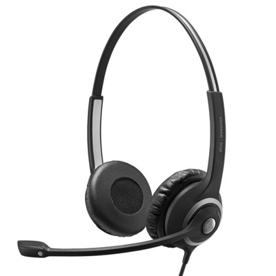 EPOS Sennheiser Impact SC 260 USB MS II Stereo Headset, With In-line Remote, MS Teams, USB-A