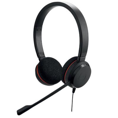 Jabra Evolve 20 UC Stereo Office Headset, USB-C