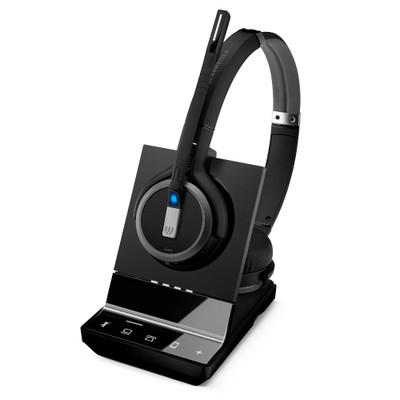 EPOS Sennheiser Impact SDW 5065, Stereo Wireless DECT Headset, Dual Connectivity - Deskphone, Softphone
