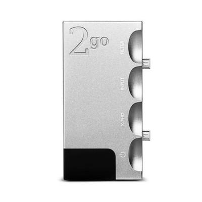 Chord 2go Transportable Music Server / Streamer / Player (Silver)