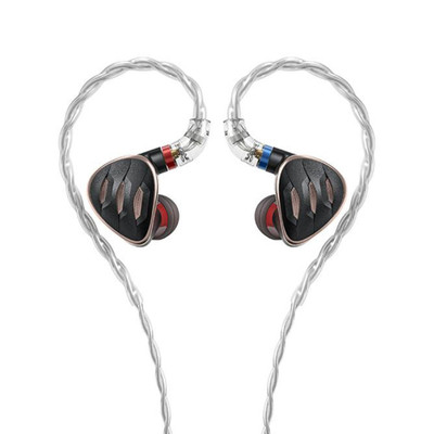 Fiio FH5s 2 Balanced Armature Drivers 2 Dynamic Drivers In-Ear Monitors (Black)