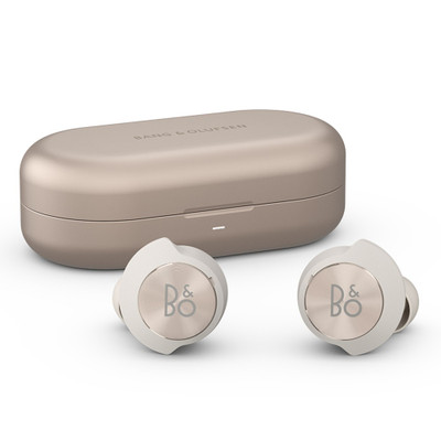 Bang & Olufsen Beoplay EQ Adaptive Noise Cancelling Wireless Earbuds With Wireless Charging Case (Sand)
