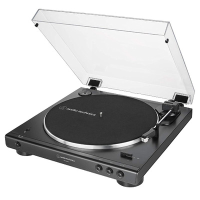 Audio-Technica AT-LP60X BT Fully Automatic Wireless Belt Drive Turntable, Bluetooth (Black)