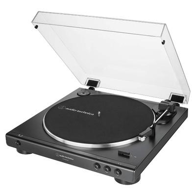 Audio-Technica AT-LP60XUSB Fully Automatic Wireless Belt Drive Turntable, USB & Analog (Black)