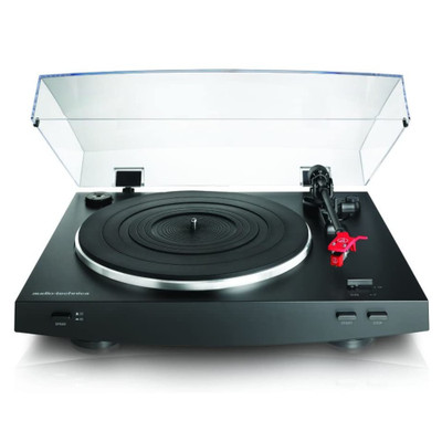 Audio-Technica AT-LP3 Fully Automatic Belt Drive Stereo Turntable (Black)