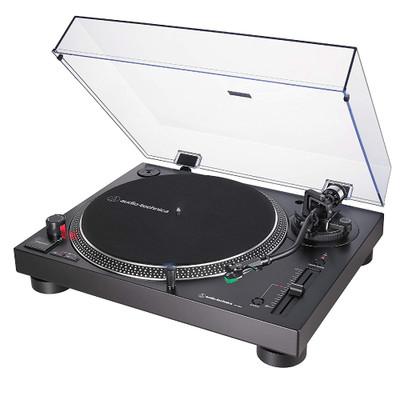 Audio-Technica AT-LP120XUSB Fully Manual Direct Drive Professional Turntable, Analog & USB (Black)
