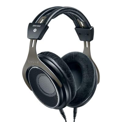 Shure SRH1840 Professional Open-Back Headphones, Over-Ear, Open-Back