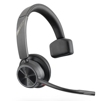 Poly Plantronics Voyager 4310 UC Mono Wireless Headset, MS Teams, USB-C