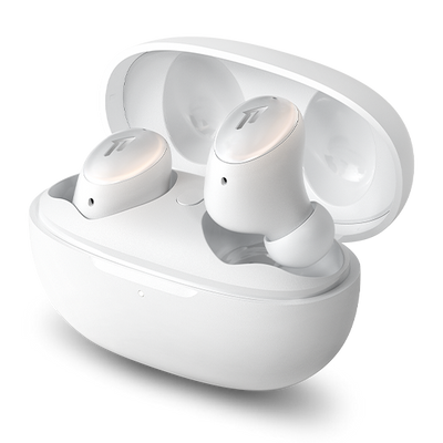 1MORE ColorBuds 2 ANC True Wireless In-Ear Earbuds With Charging Case (White)