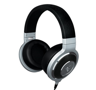 Razer Kraken Forged Edition Premium Gaming Headphones (Silver)