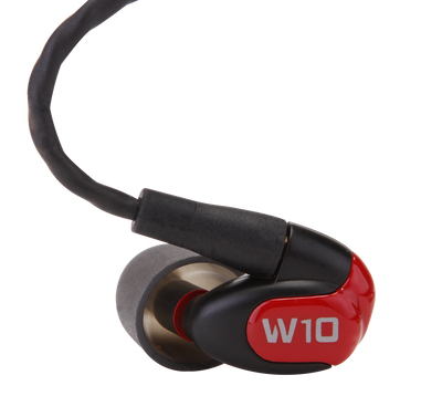 Westone W10 Single Driver In-Ear Monitors With Removable MMCX Audio Cable