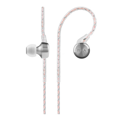 3e54ea51e63 RHA CL750 Ultra Wide Band High Resolution In Ear Earphones (Silver/Clear)