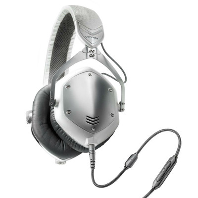 V-MODA Crossfade M-100 Over-Ear Headphones (White Silver)